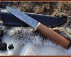Lovecký nôž - ručne kovaný (vzor 2)